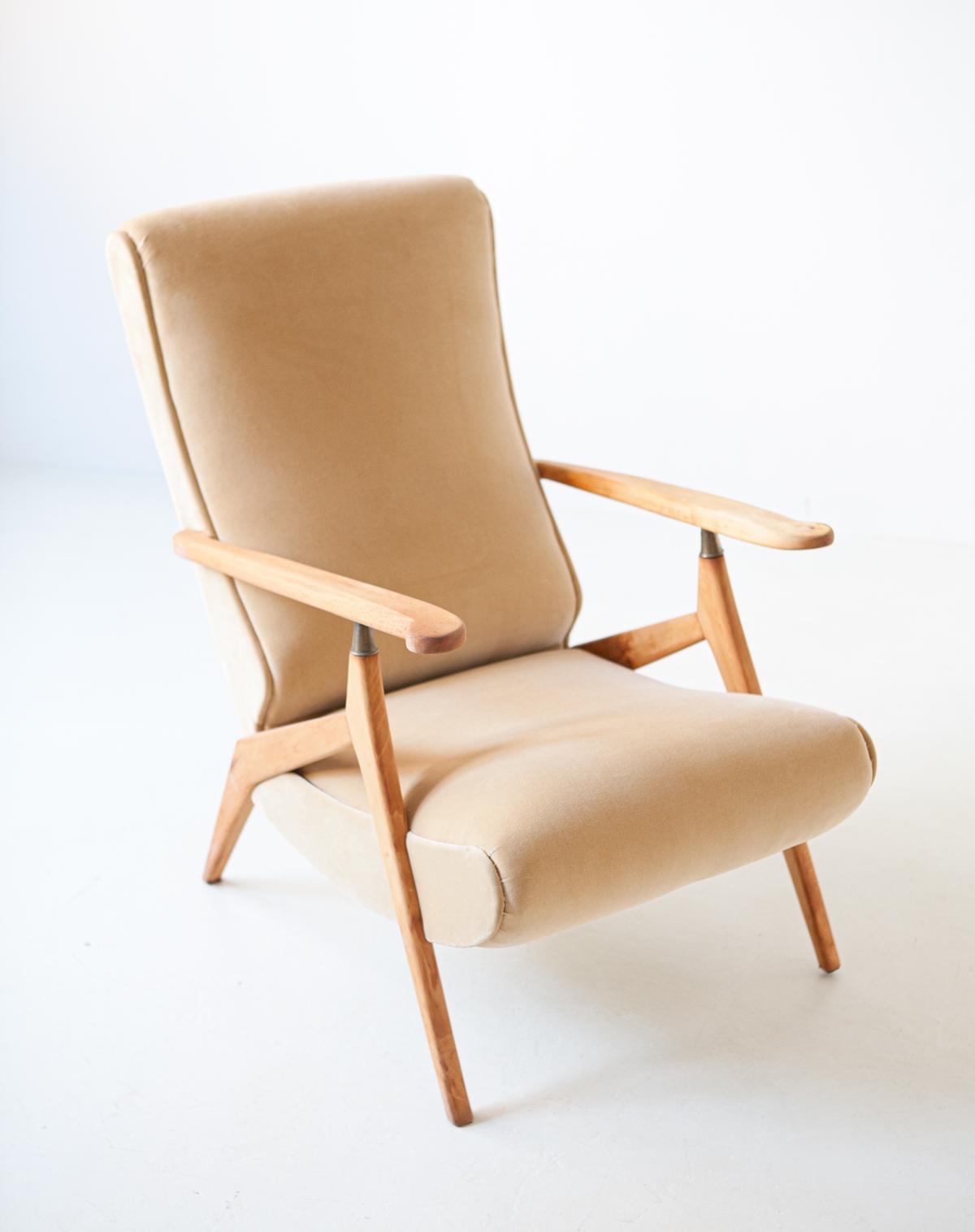 1950s-beech-and-sand-velvet-reclirer-lounge-chair-1-se320