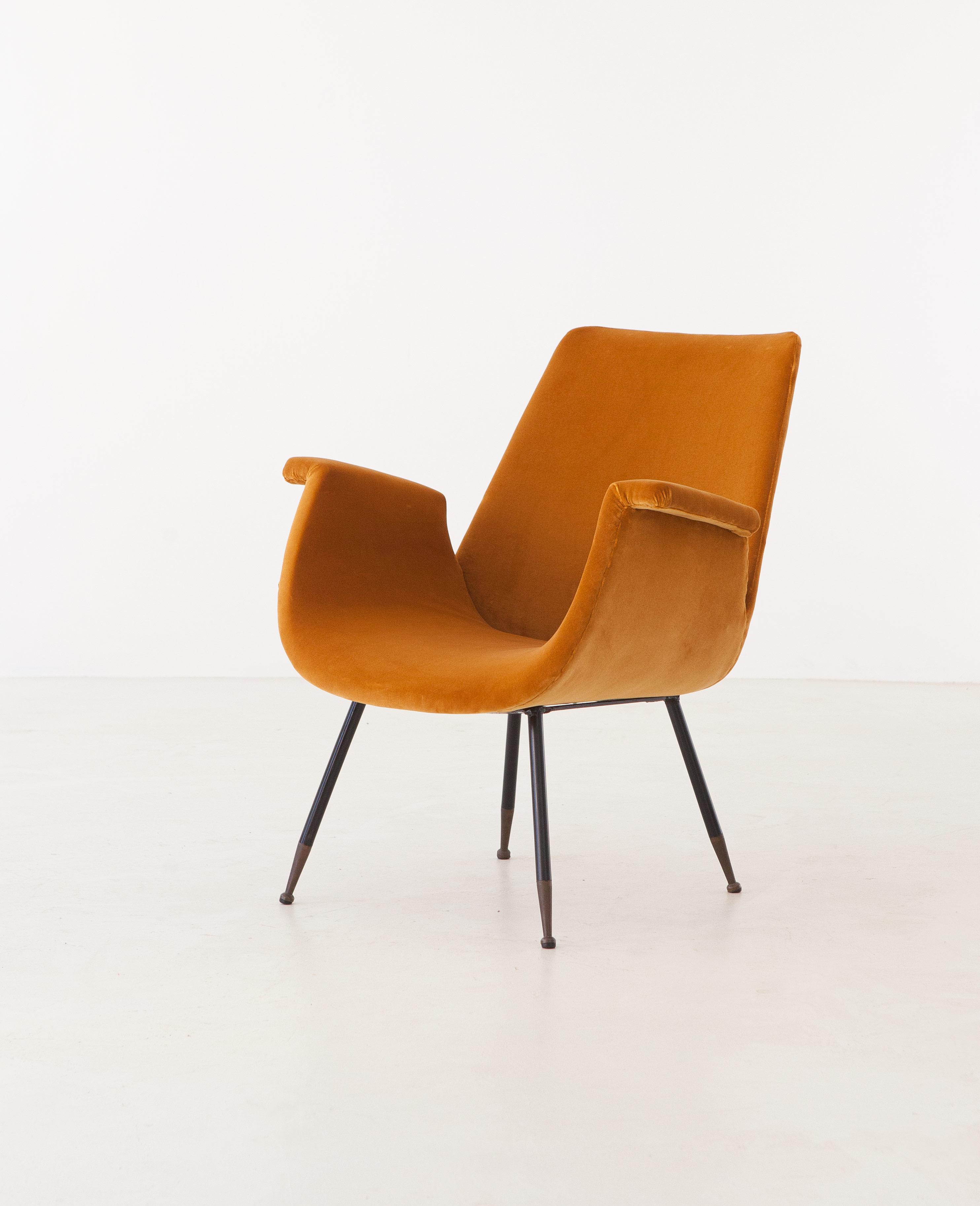 1950s-gastone-rinaldi-yellow-velvet-lounge-armchair-5-se316