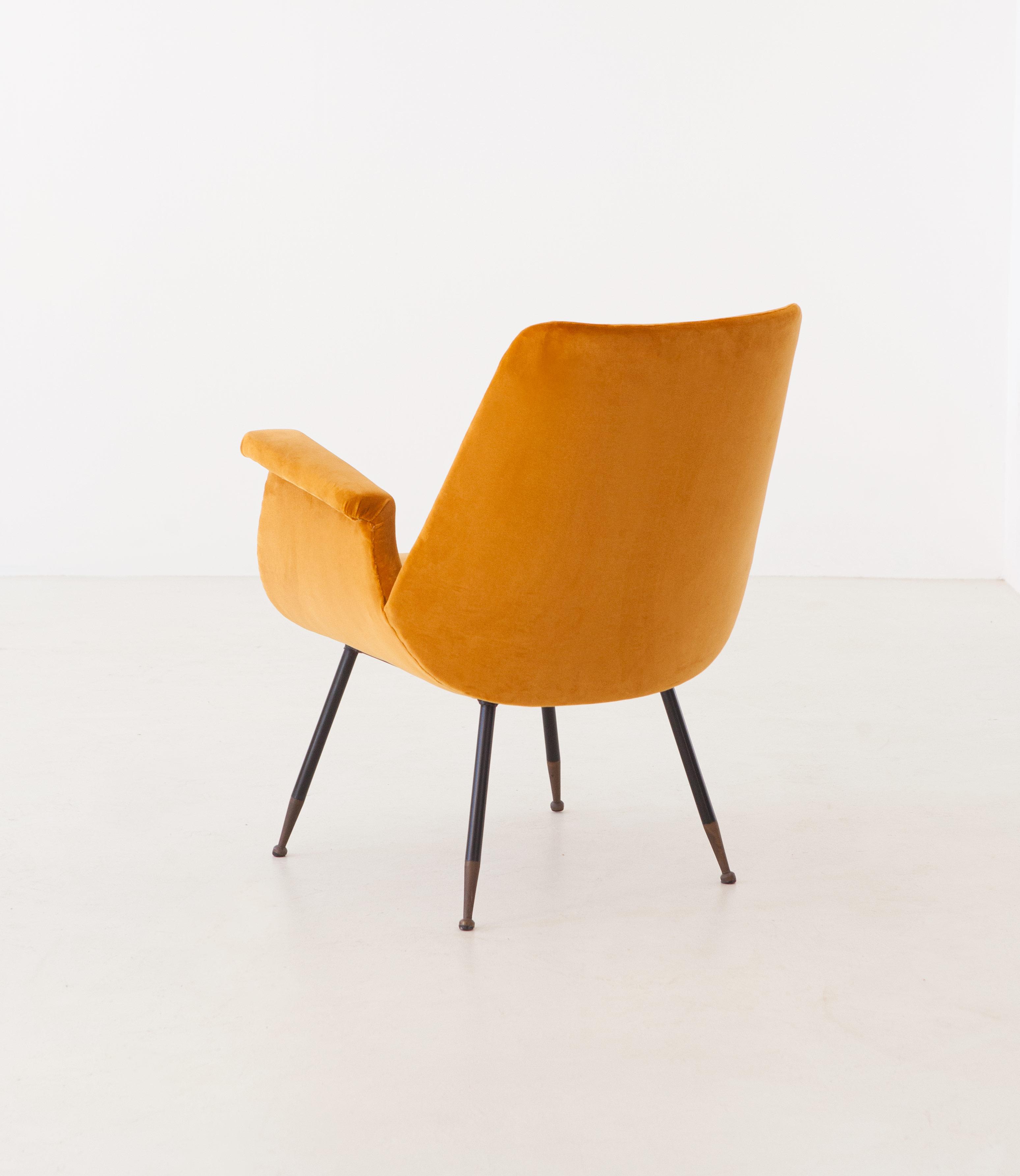 1950s-gastone-rinaldi-yellow-velvet-lounge-armchair-7-se316