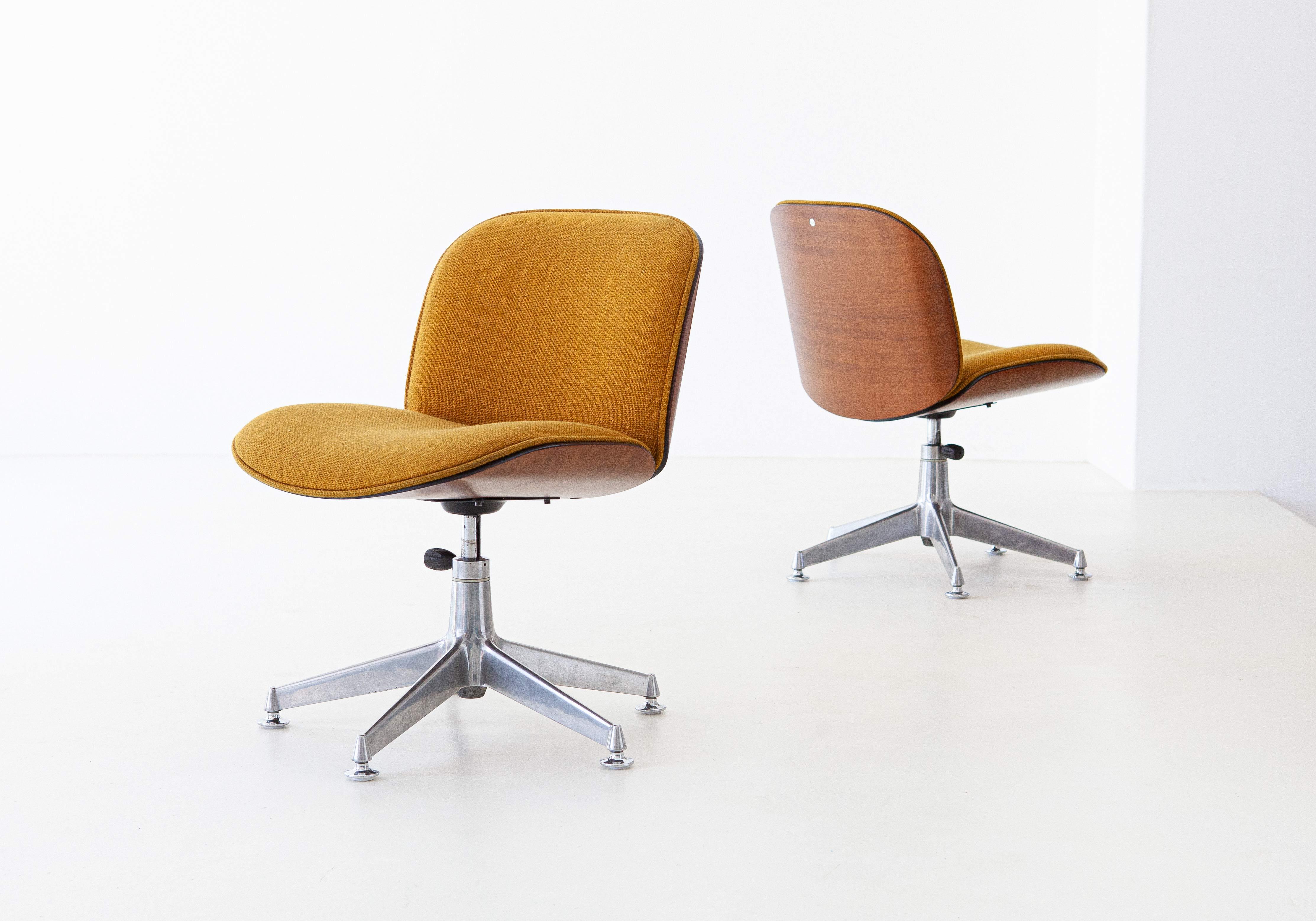 1950s-ico-parisi-for-mim-walnut-swivel-desk-chairs-1-se305