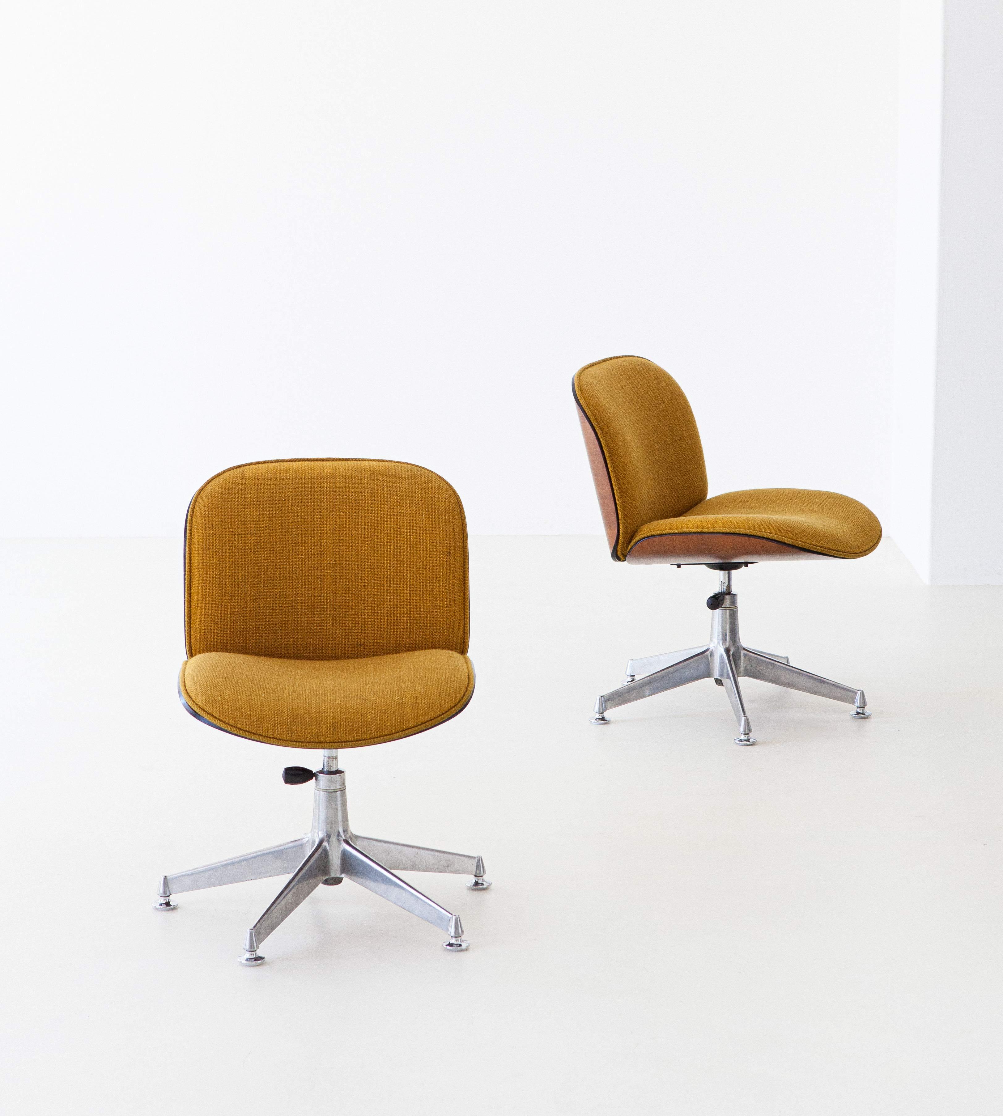 1950s-ico-parisi-for-mim-walnut-swivel-desk-chairs-2-se305