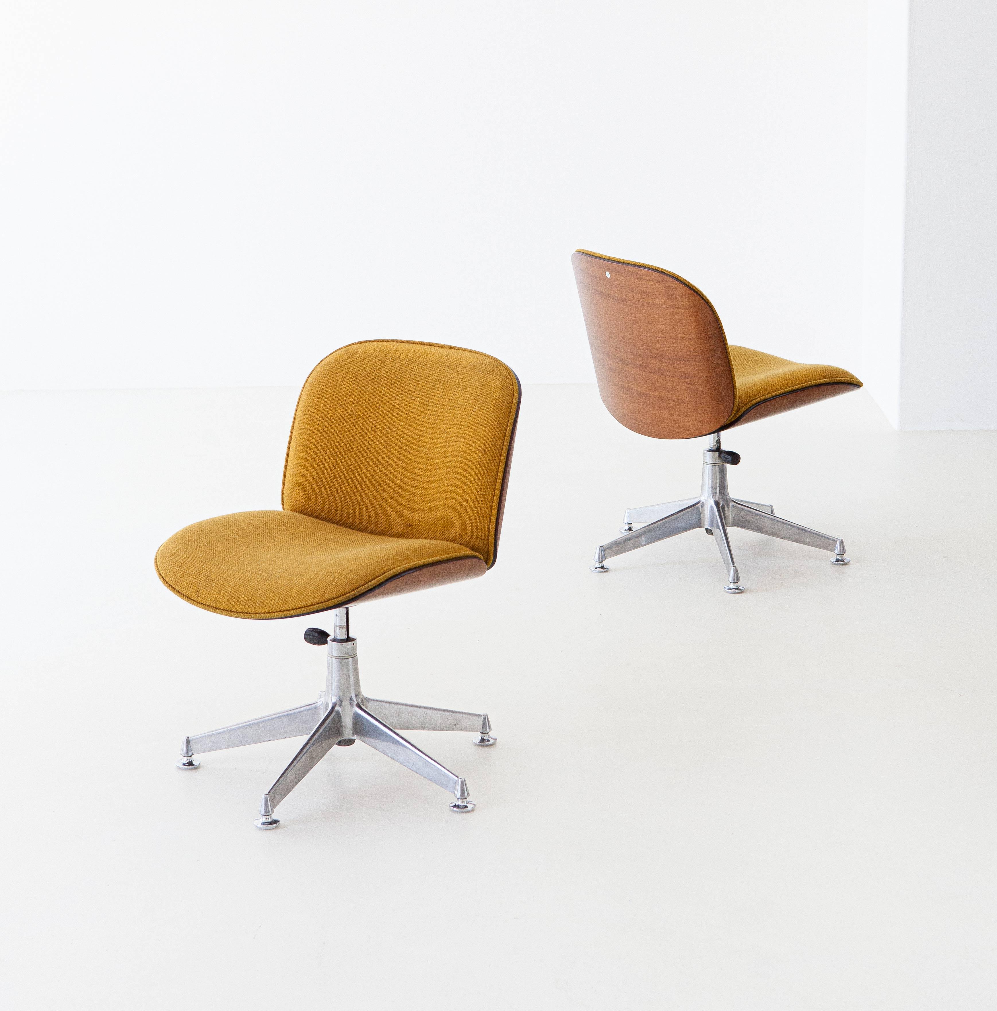 1950s-ico-parisi-for-mim-walnut-swivel-desk-chairs-4-se305