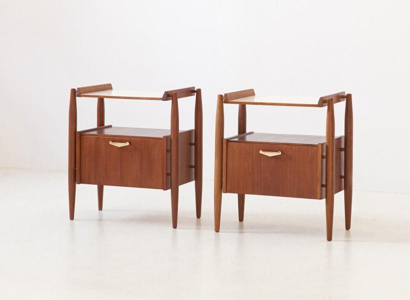 1950 Italian bedside table BT82