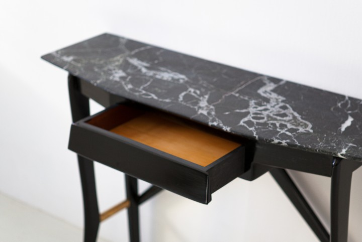 1950s Italian Wood and Marble Console Table from 'La Permanente', Cantu OF111 – not available