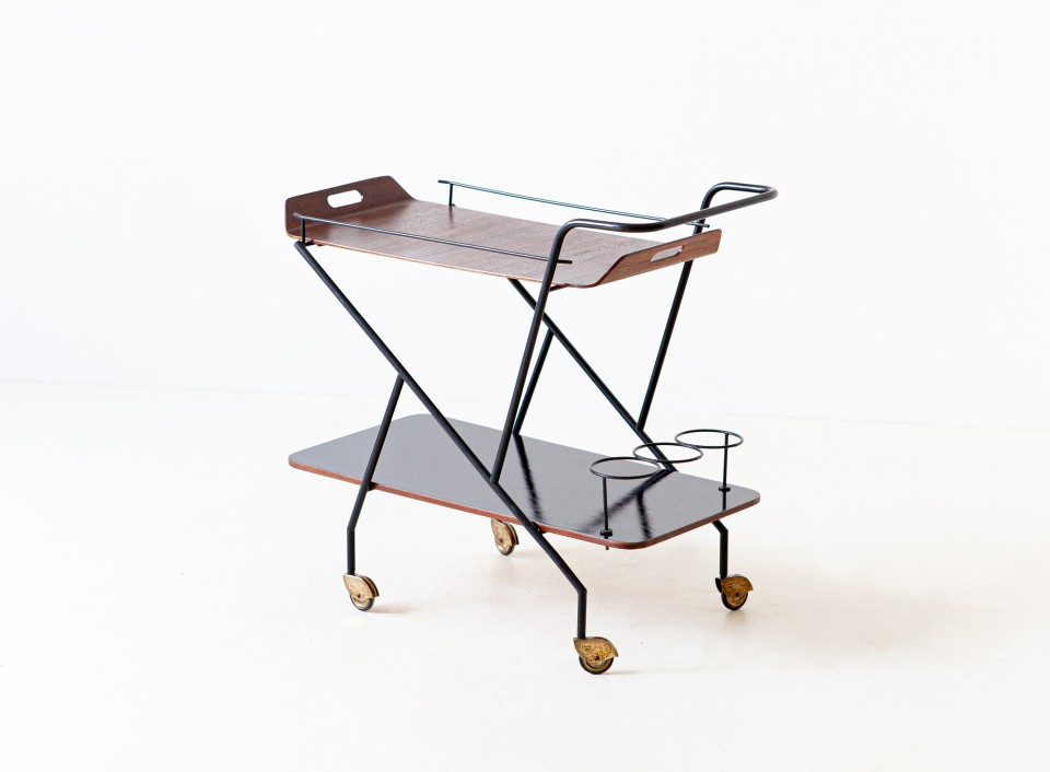 1950s Italian design bar cart OF99 – Not available..