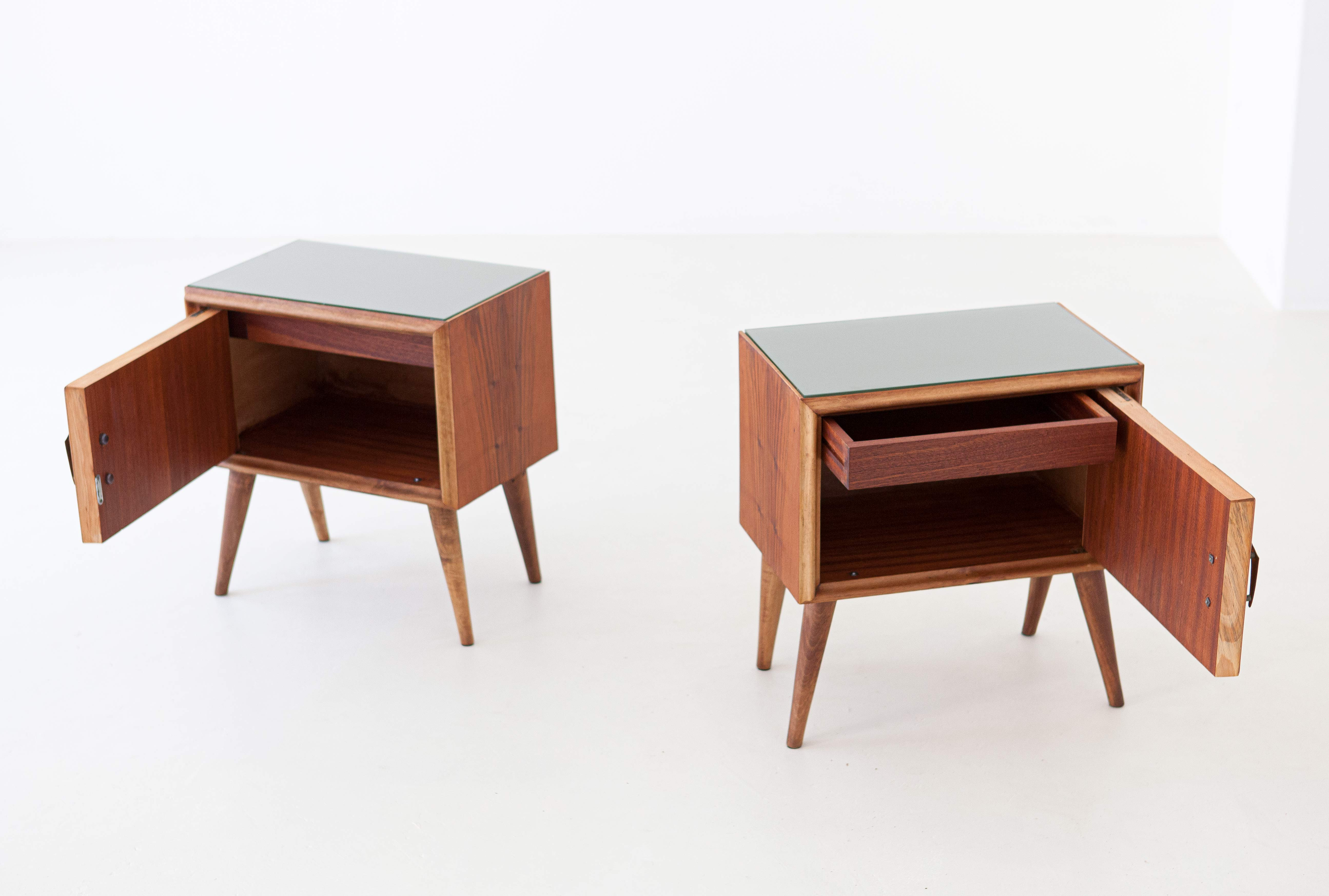 1950s-italian-exotic-wood-brass-glass-bedside-tables-9-BT81