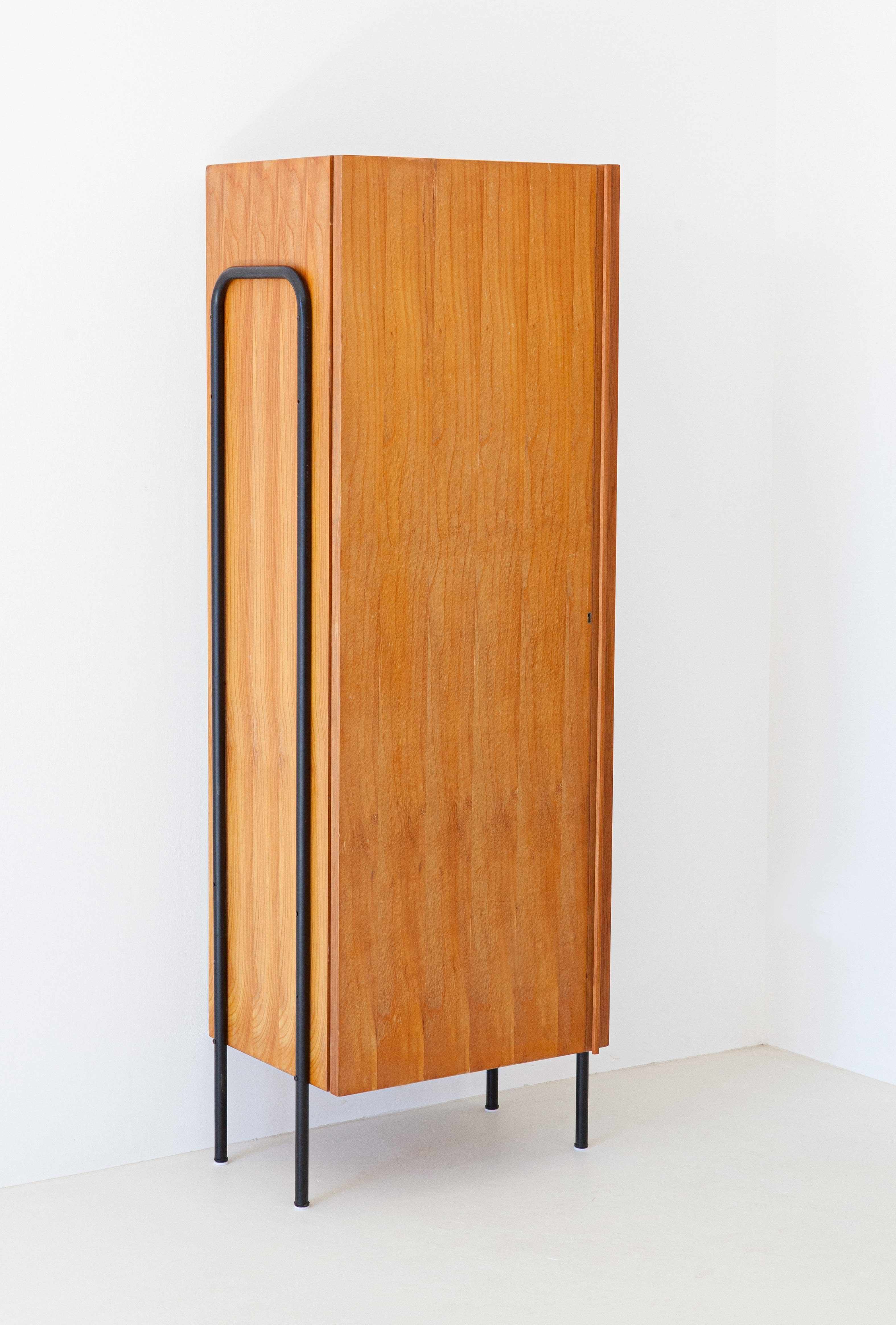 1950s-italian-light-wood-and-iron-wardrobe-cabinet--st114
