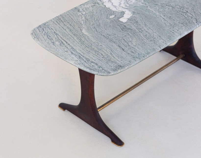 1950s Italian low table with marble top T88