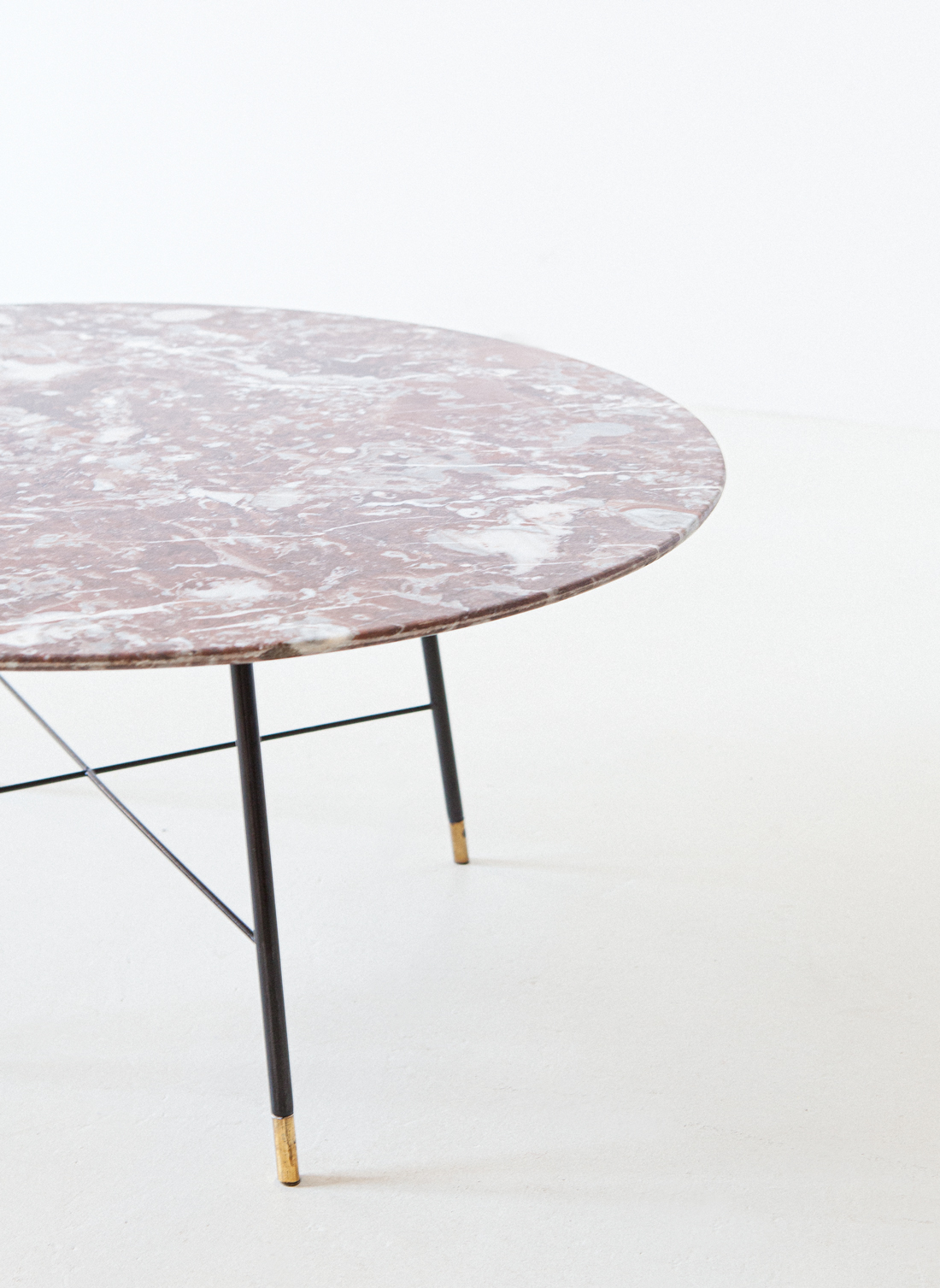 1950s-italian-marble-top-round-low-table-4-t85