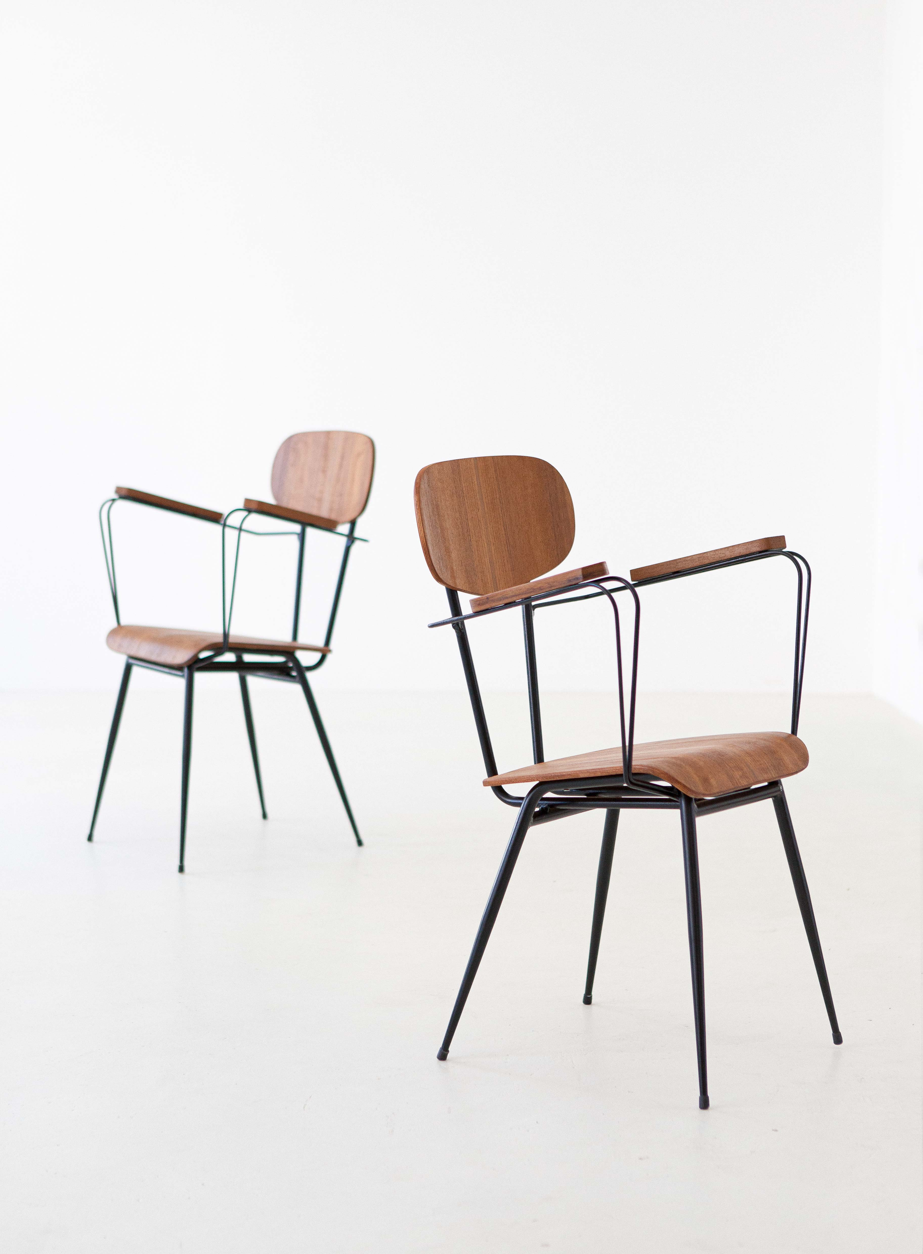 1950s-italian-set-of-four-teak-and-iron-chairs-3-se303