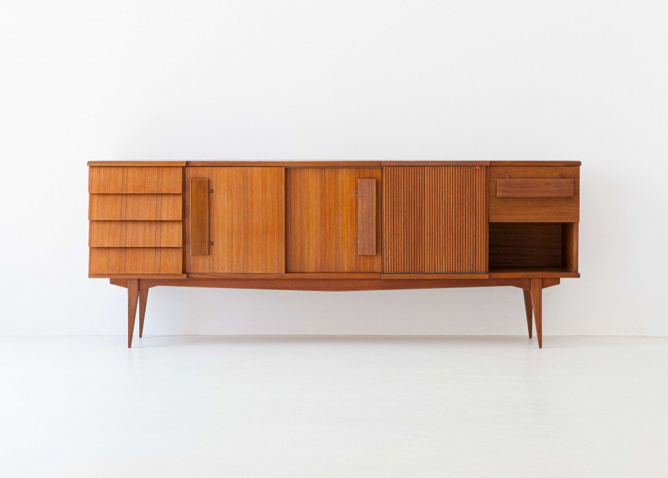 1950s Italian teak sideboard ST113 – Not available
