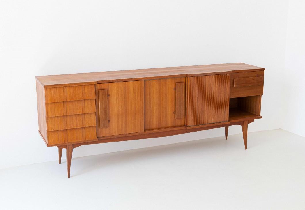 1950s Italian teak sideboard ST113 – Not available