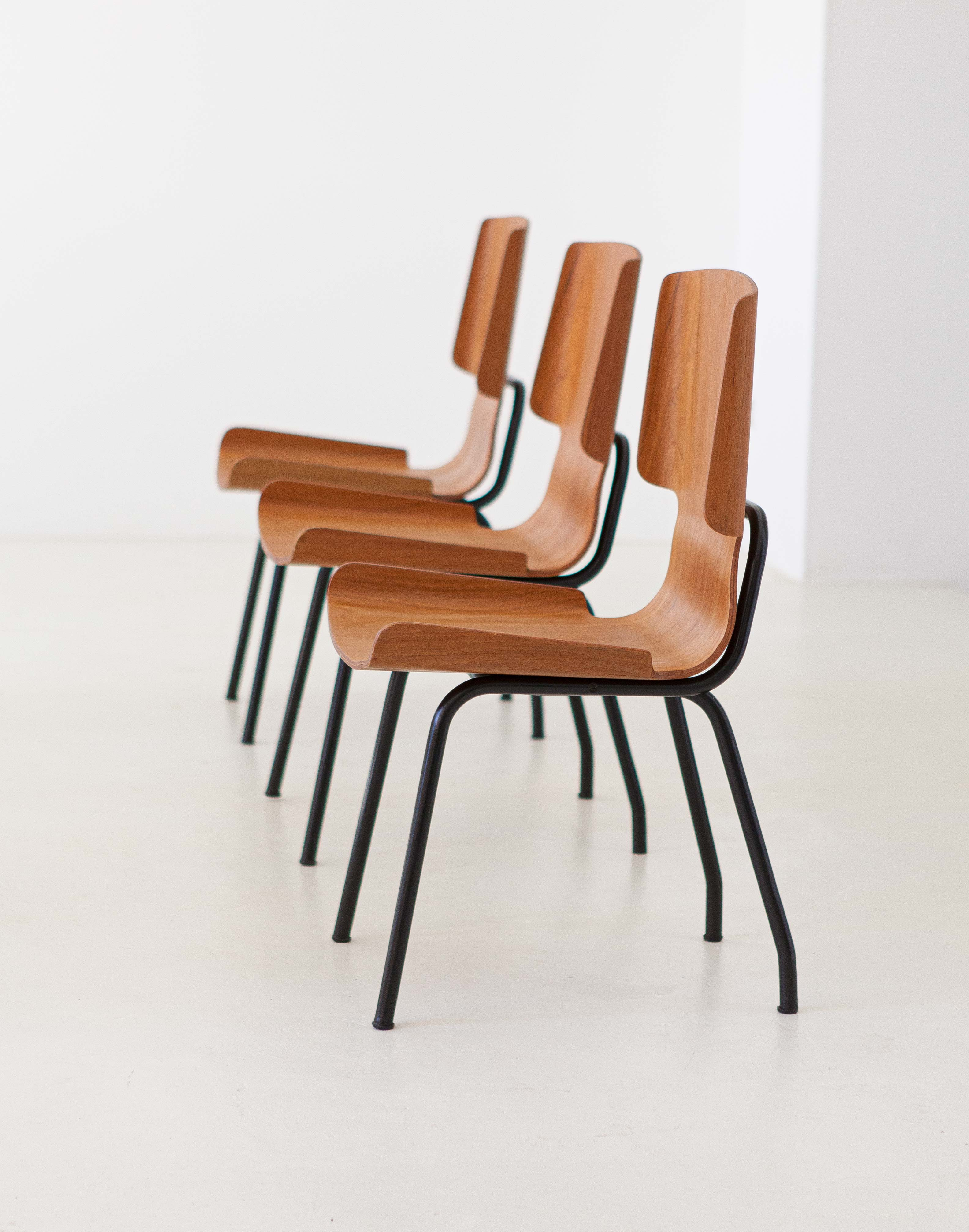 1950s-set-of-six-curved-teak-chairs-by-carlo-ratti-3-se311