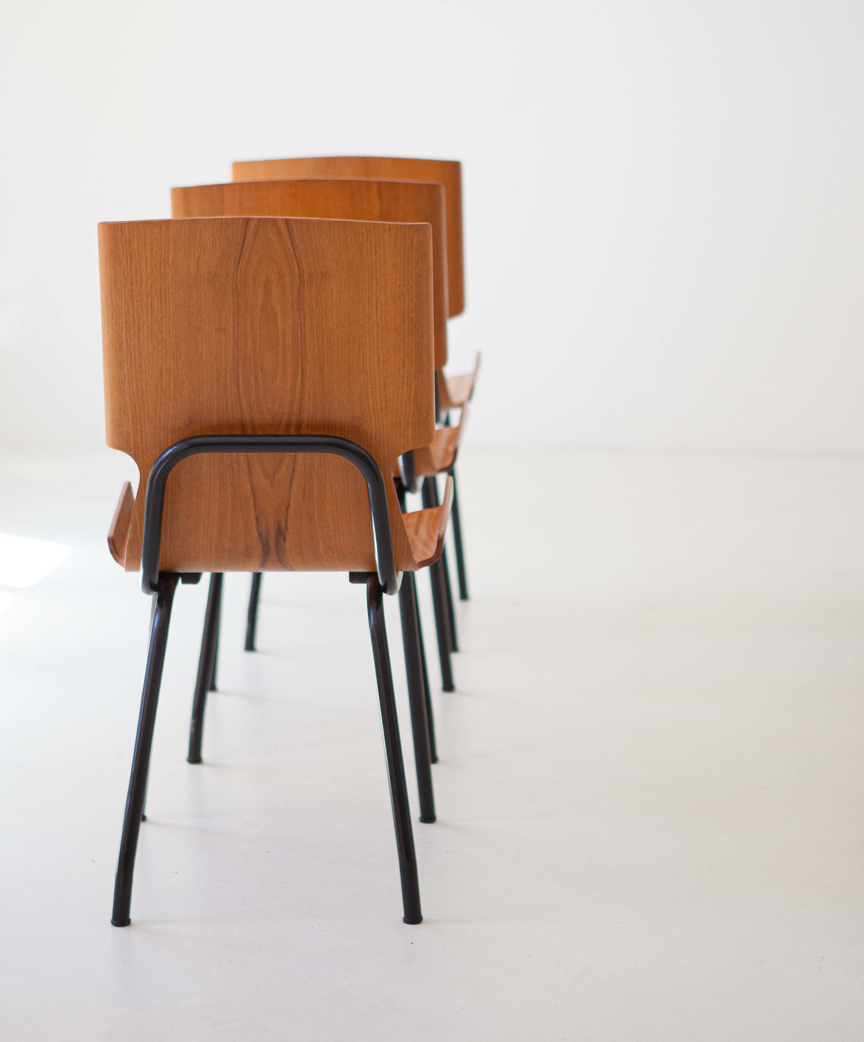 1950s-set-of-six-curved-teak-chairs-by-carlo-ratti-4-se311