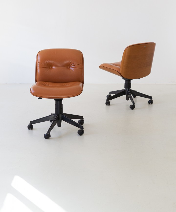 Italian Swivel Chair by Ico Parisi for MIM Roma, 1960s  SE317 – NOT AVAILABLE
