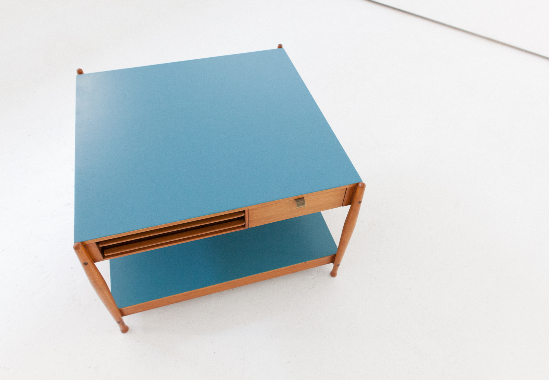 Cool low square coffee table