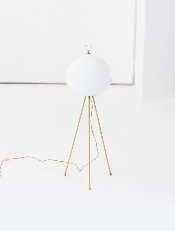 Italian Mid-Century Modern Floor Tripode Lamp L69 – Not available