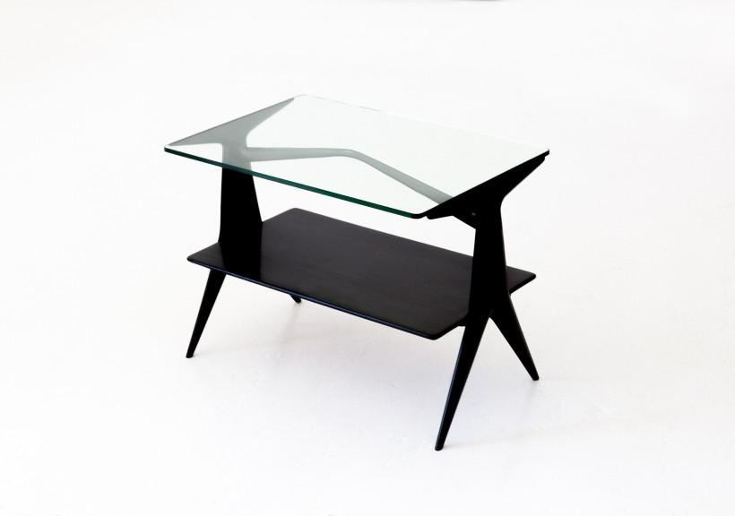 1950s Italian  modern small console table, T73