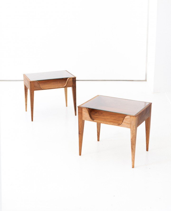 Pair of Italian Bedside Tables by F.lli Strada, 1950s BT71 – Not available