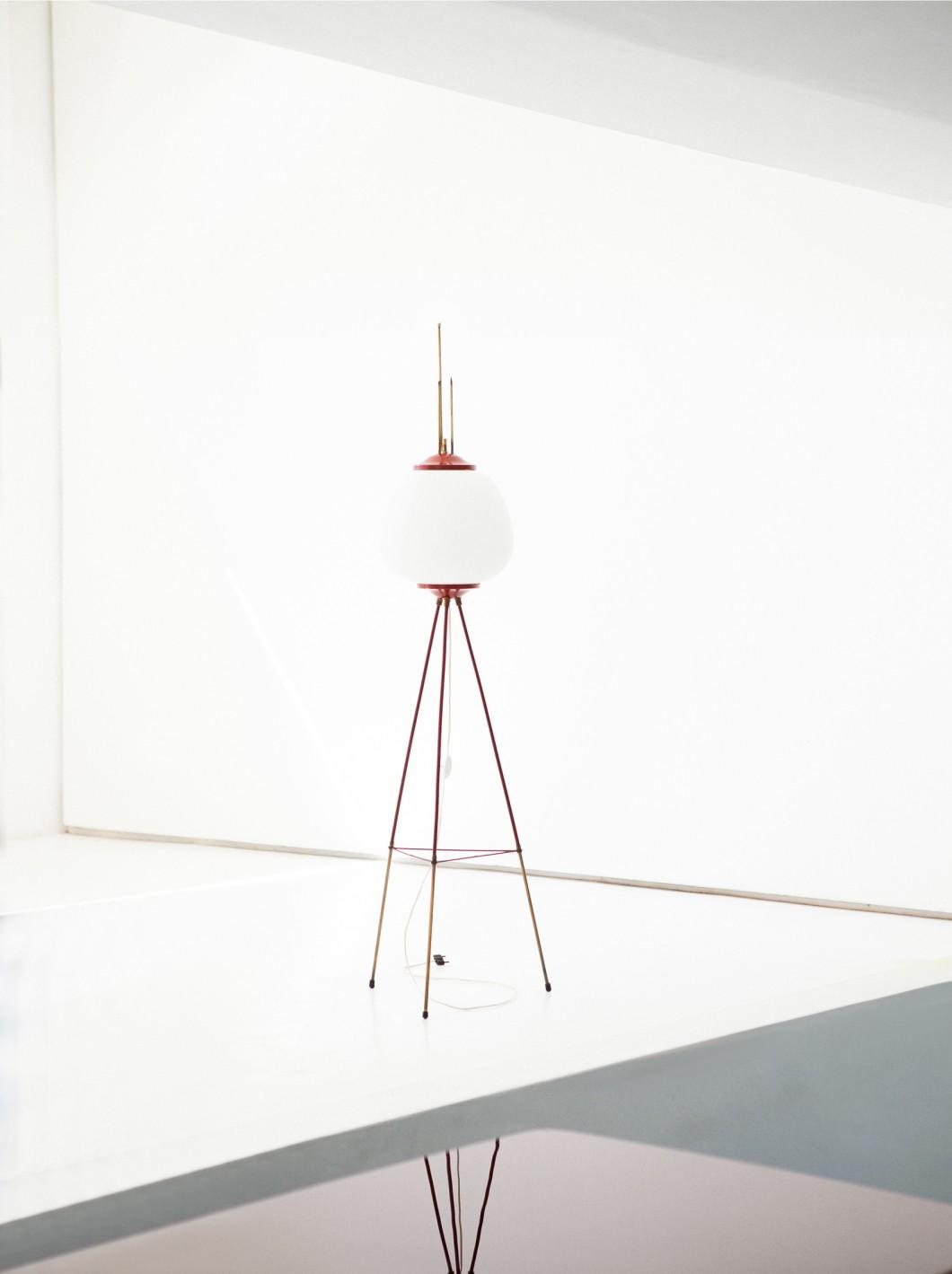 Italian Mid-Century Modern Floor Lamp, 1950s  L71 – Not available