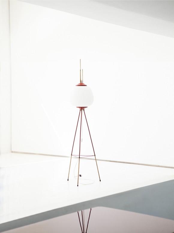 Italian Mid-Century Modern Floor Lamp, 1950s  L71
