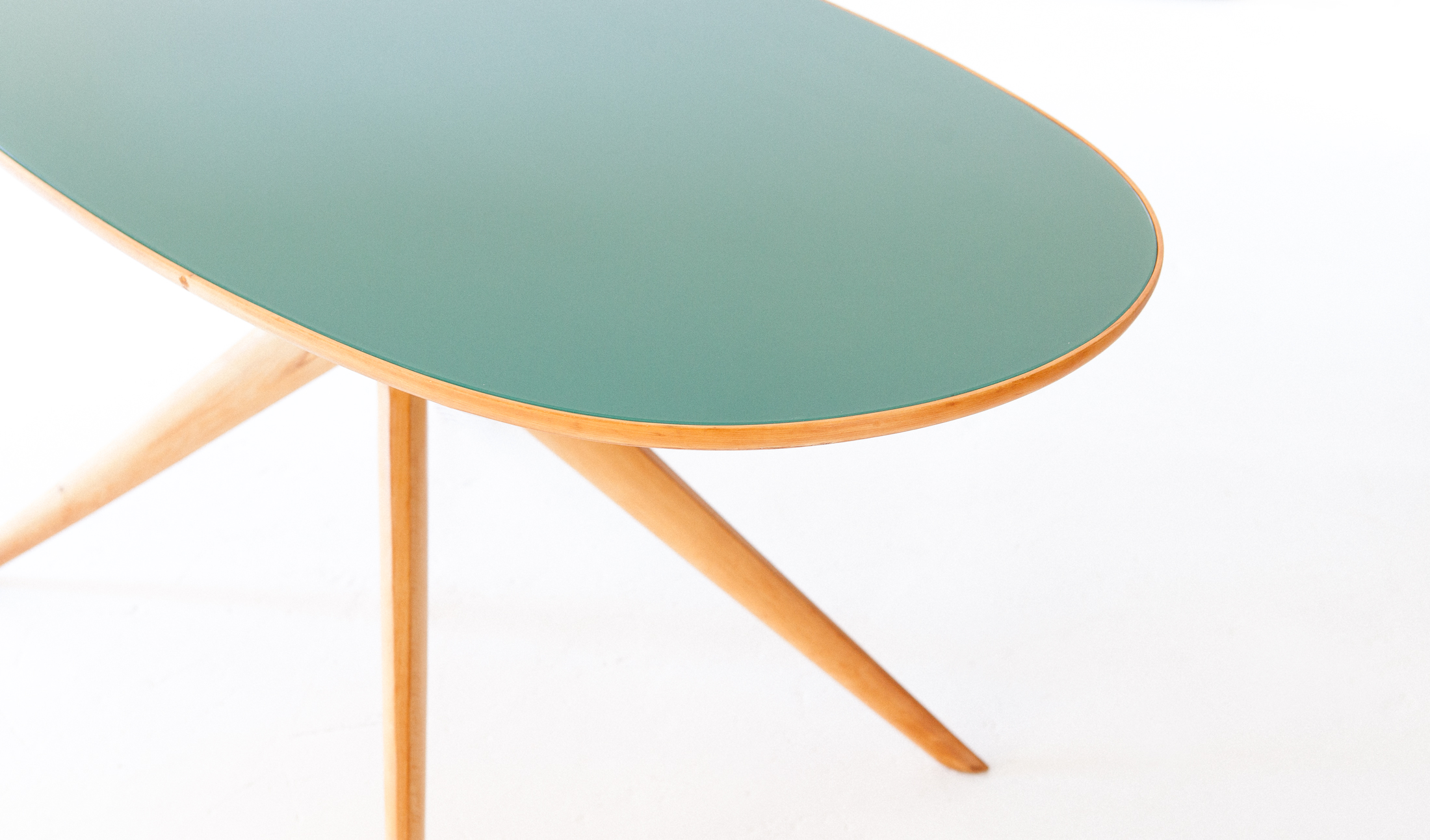 Elliptical-beech-light-green-dining-table-3