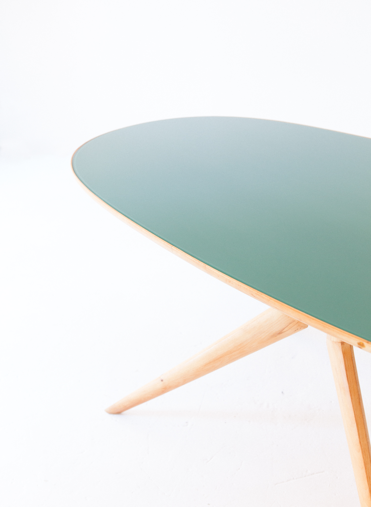 Elliptical-beech-light-green-dining-table-4