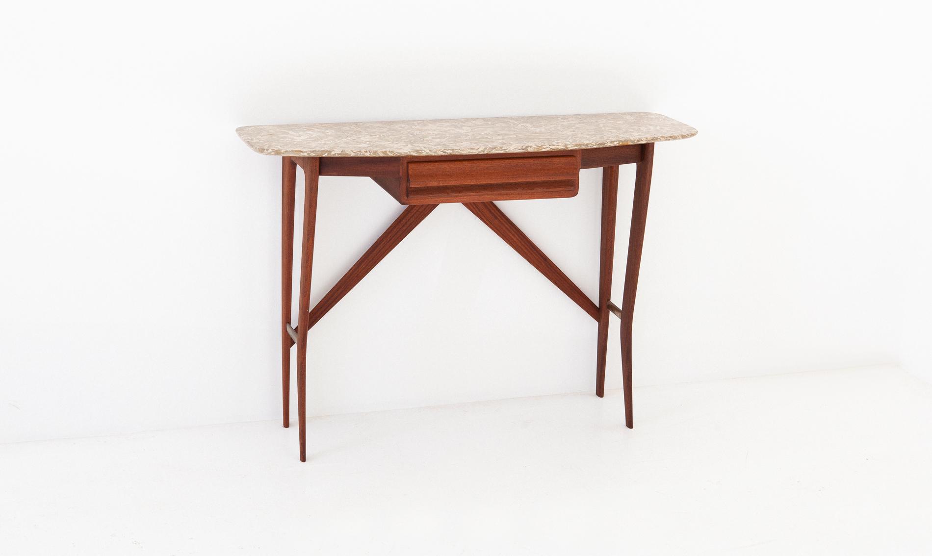 OF82-mahogany-marble-console-table-la-permanente-cantu-2 - Copia