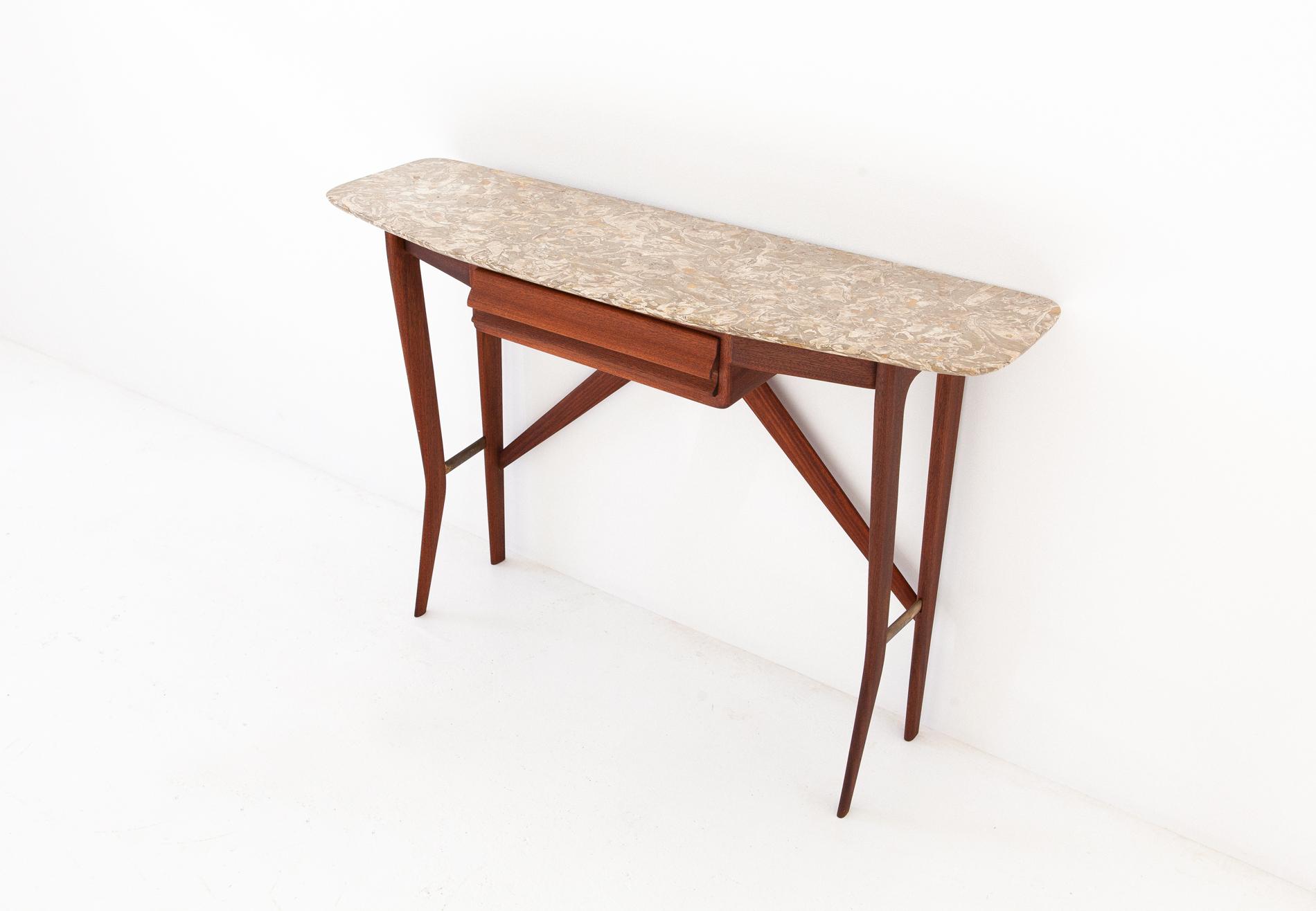 OF82-mahogany-marble-console-table-la-permanente-cantu-4 - Copia