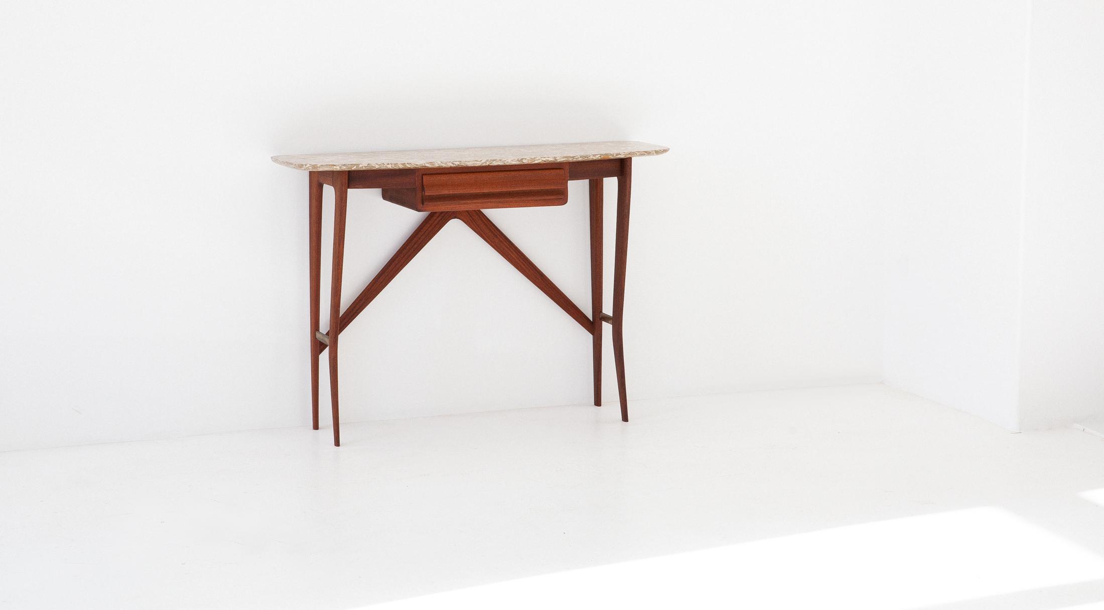 OF82-mahogany-marble-console-table-la-permanente-cantu-8 - Copia