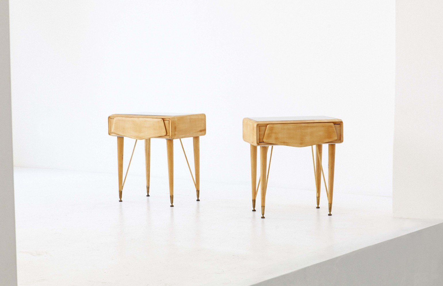 Pair of Italian Bedside Tables, 1950s BT77 – Not available..