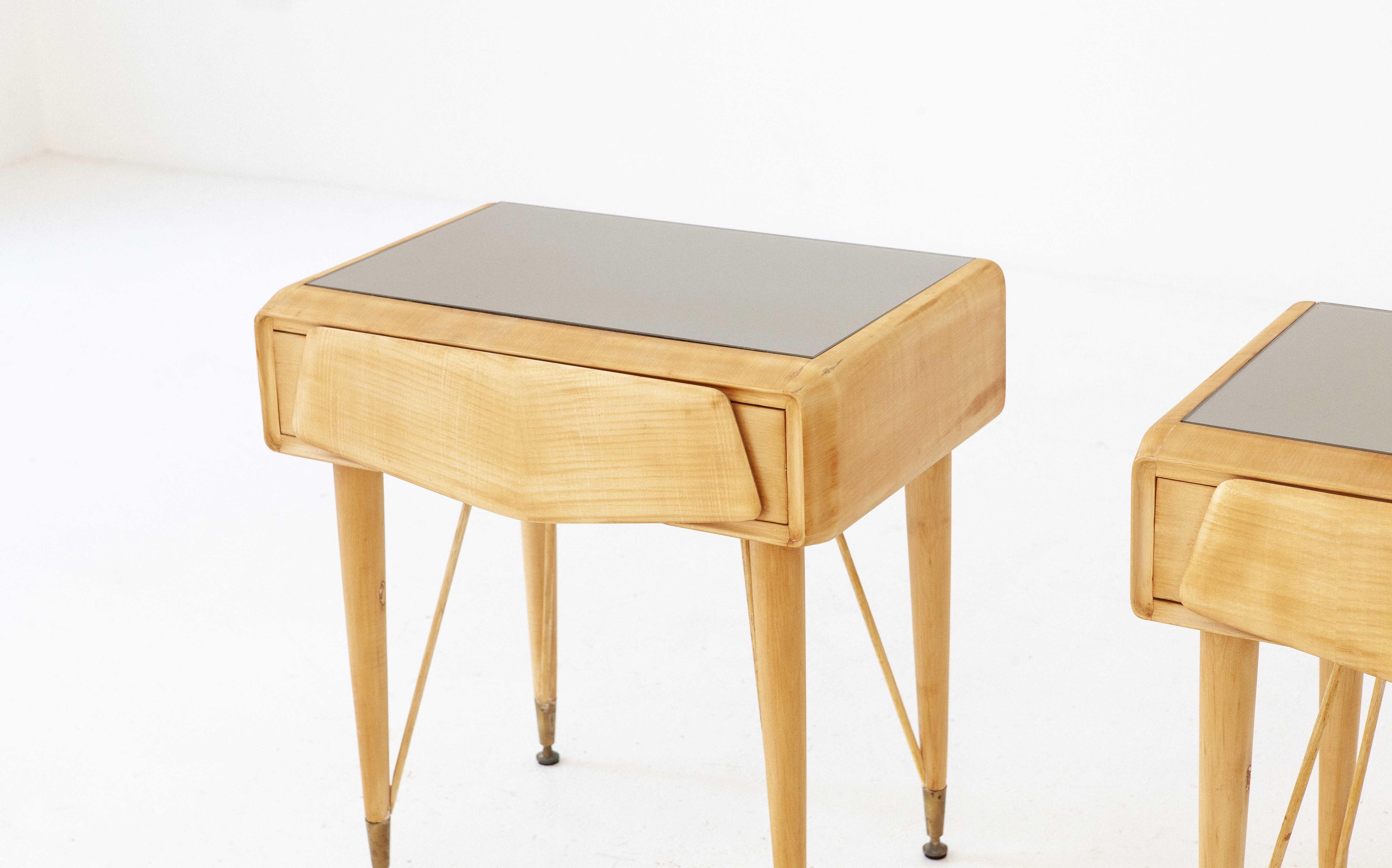 italian-mable-wood-glass-brass-bedside-tables-4-BT77