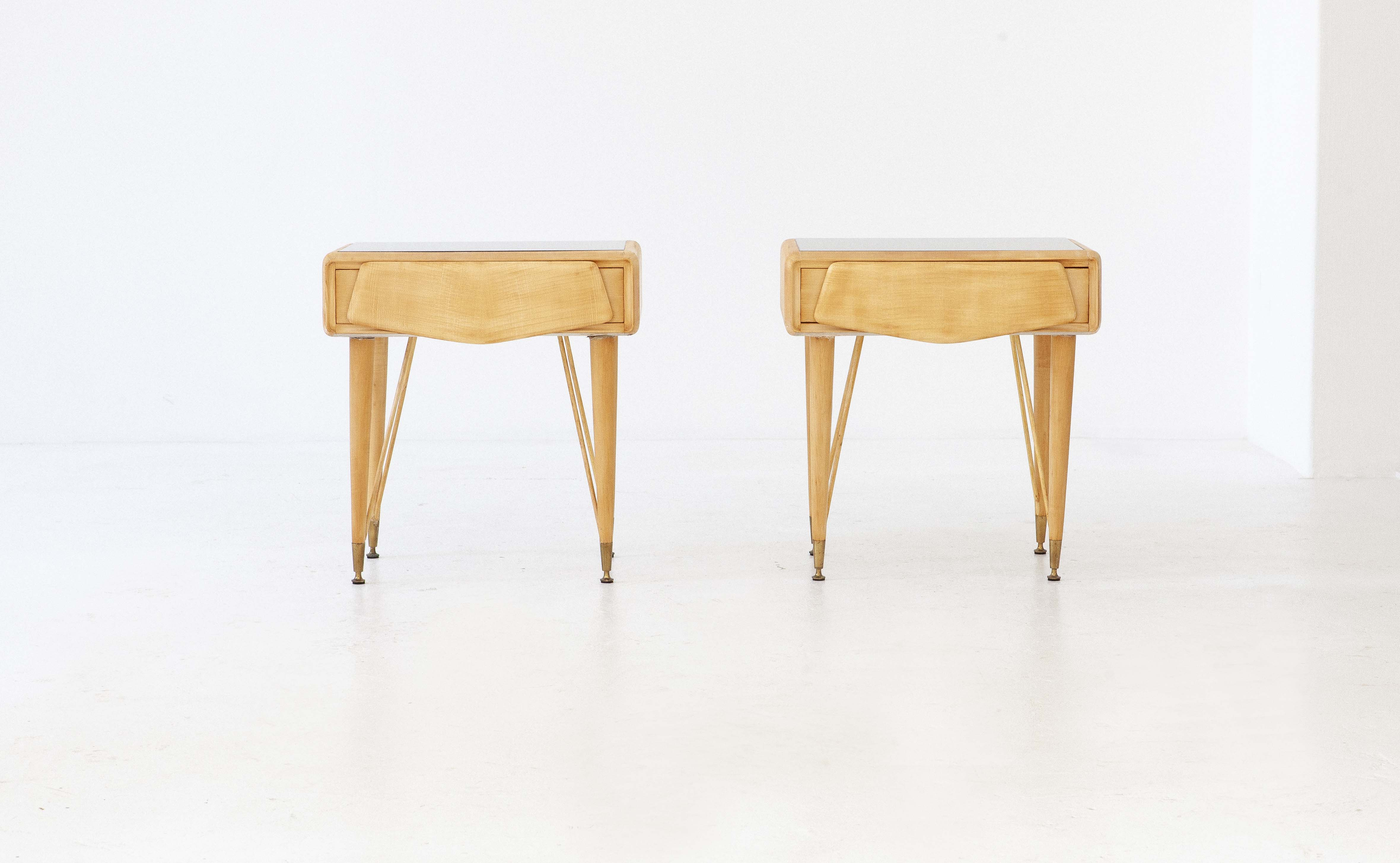 italian-mable-wood-glass-brass-bedside-tables-5-BT77