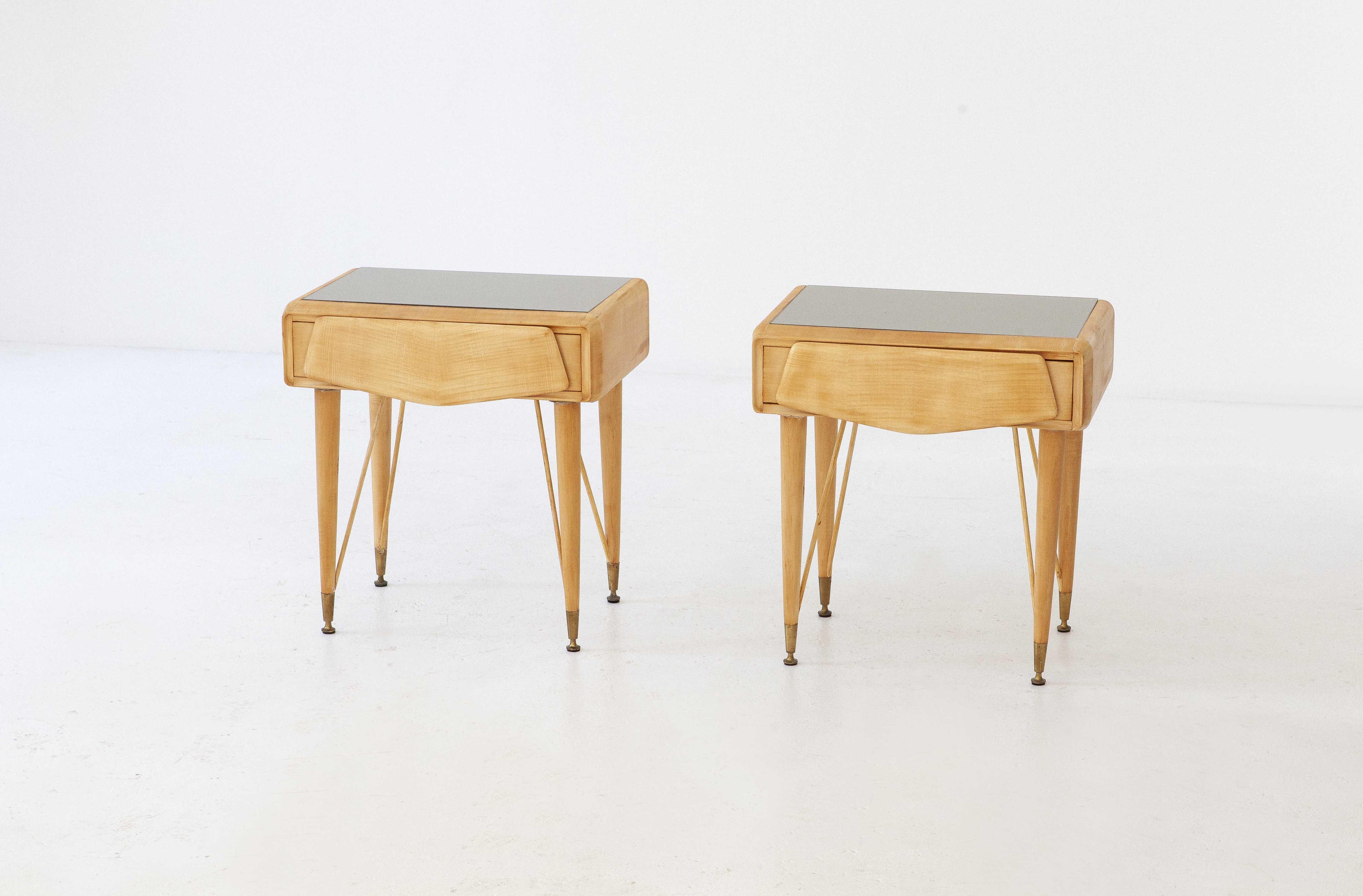 italian-mable-wood-glass-brass-bedside-tables-6-BT77