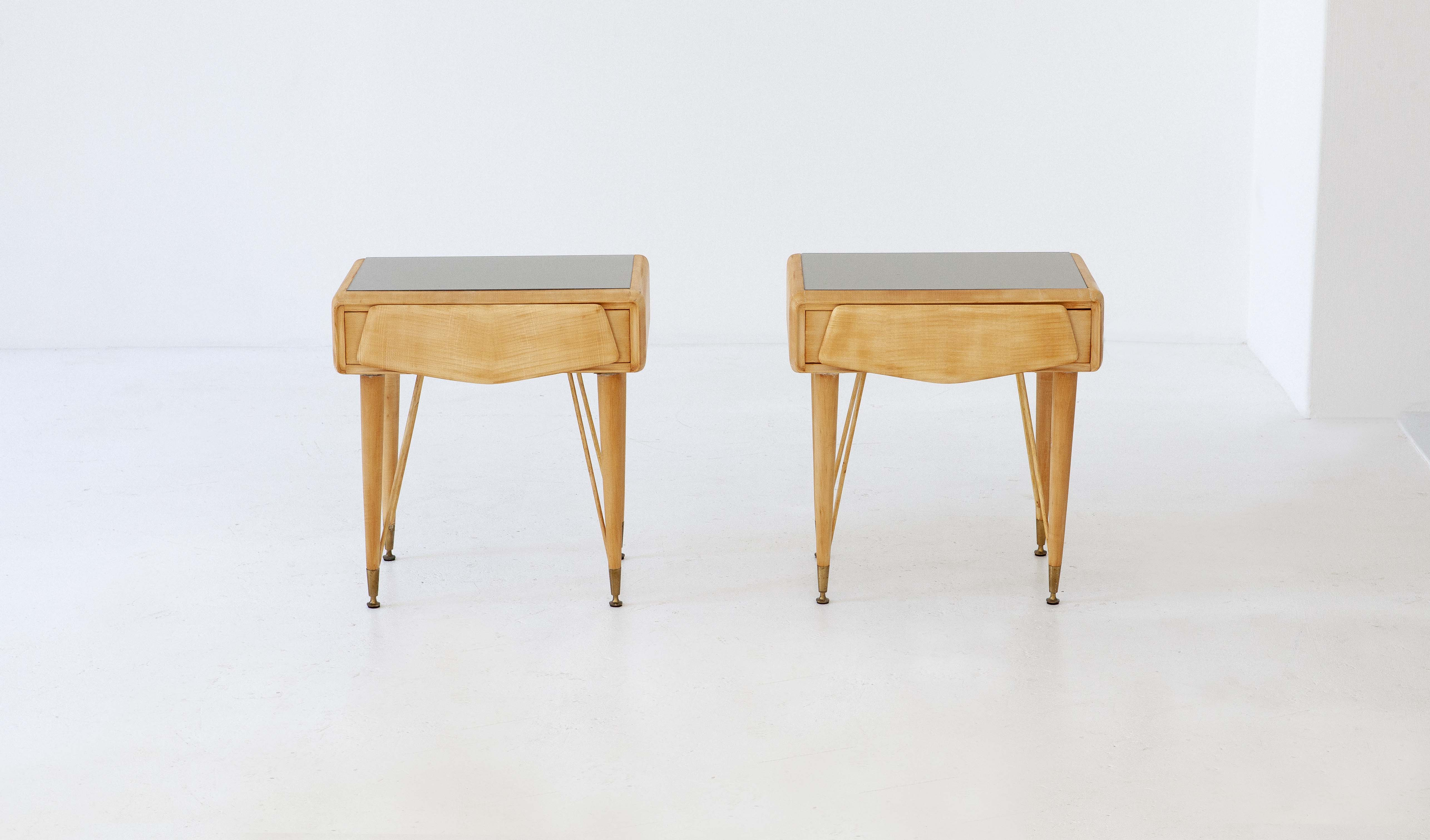 italian-mable-wood-glass-brass-bedside-tables-7-BT77