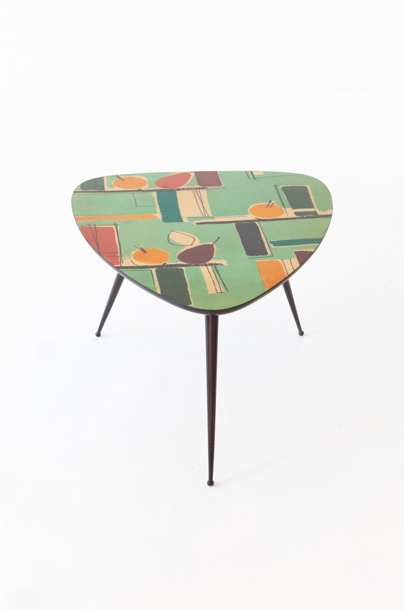 Italian Mid-Century Modern Triangular Coffee Table  T80