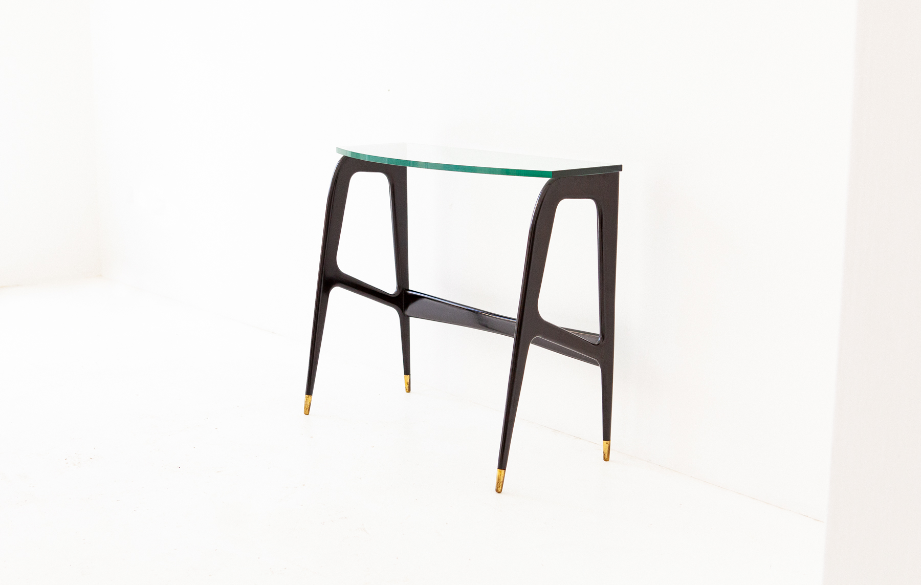 Italian-Black-lacquered-wood-brass-glass-console-table-1-OF87