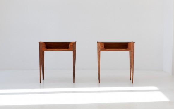 Pair of Italian Bedside Tables by F.lli Strada, 1950s BT78