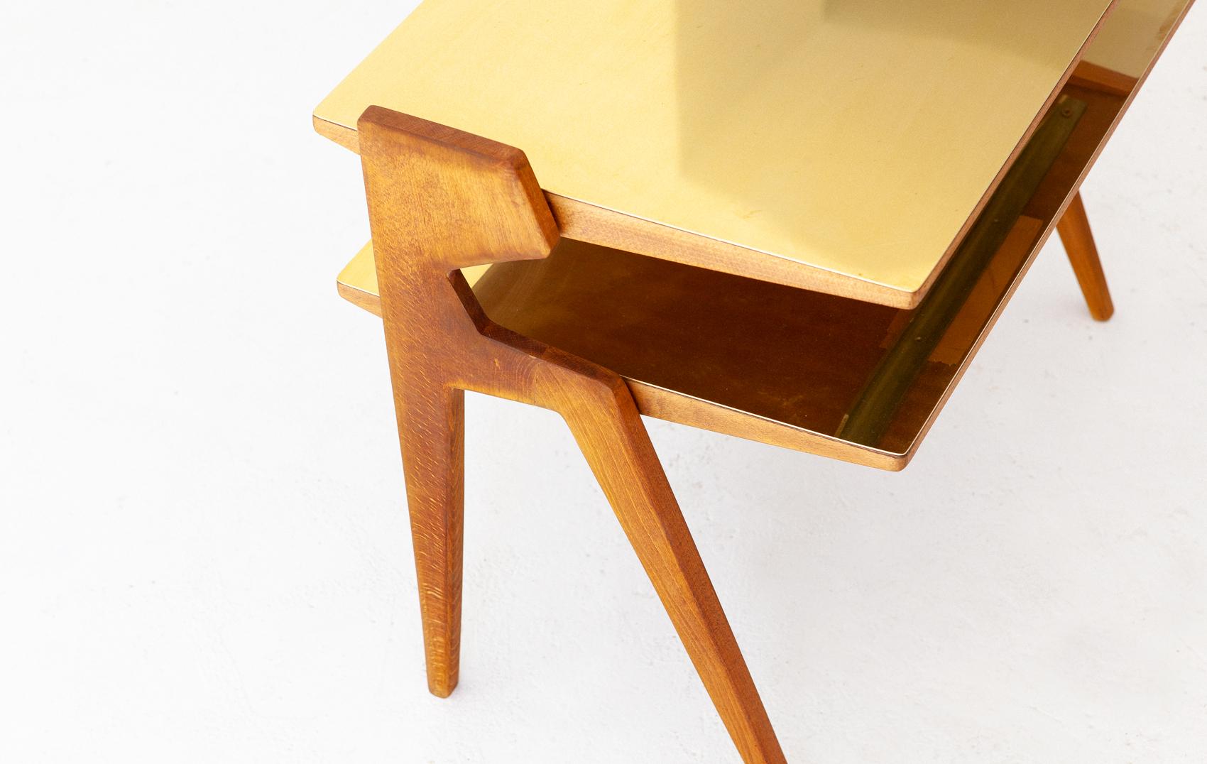 1950s-italian-brass-light-wood-two-levels-side-table-1-t81
