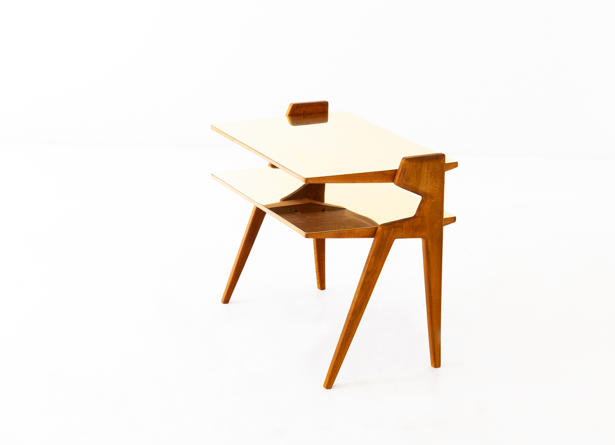 1950s-italian-brass-light-wood-two-levels-side-table-4-t81
