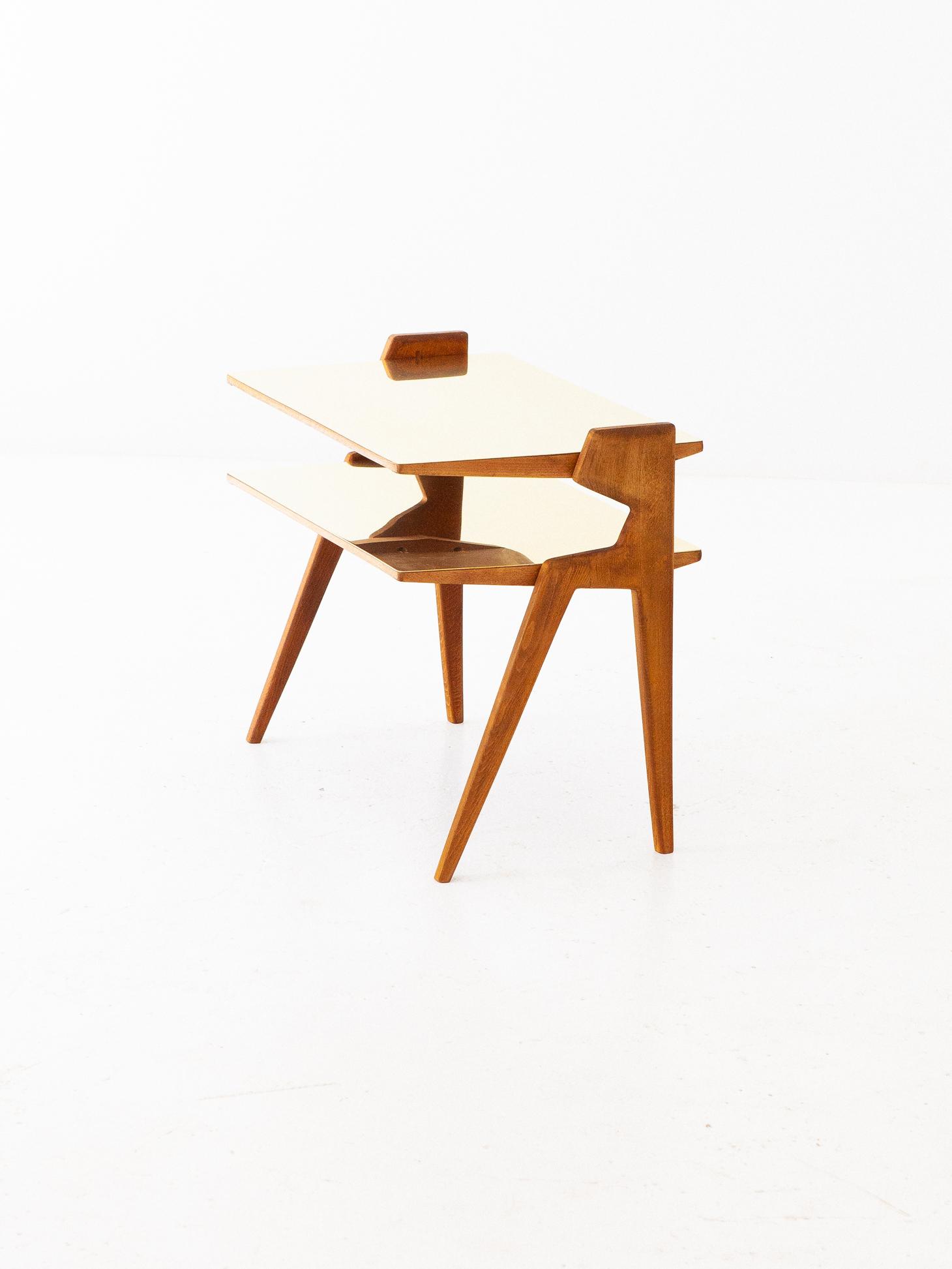 1950s-italian-brass-light-wood-two-levels-side-table-7-t81