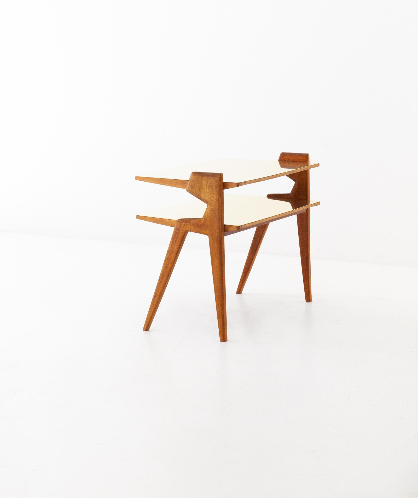 1950s-italian-brass-light-wood-two-levels-side-table-8-t81