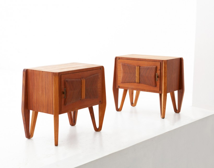 Pair of Italian Teak Bedside Tables   BT79 – Not Available
