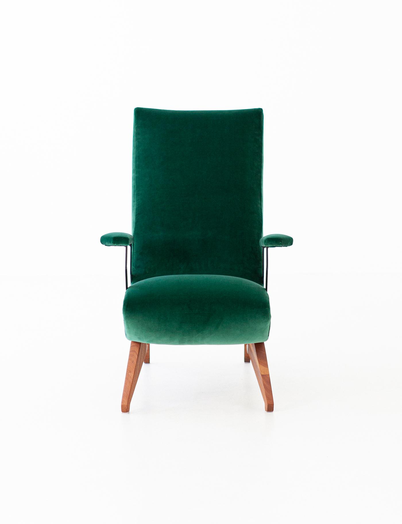 1950s-green-velvet-mahogany-italian-armchair-4-se290