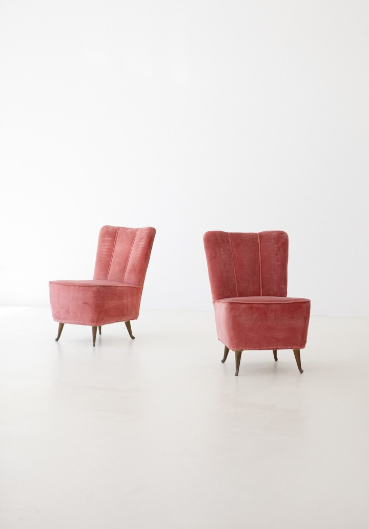 Italian Easy Chairs by I.S.A. SE286