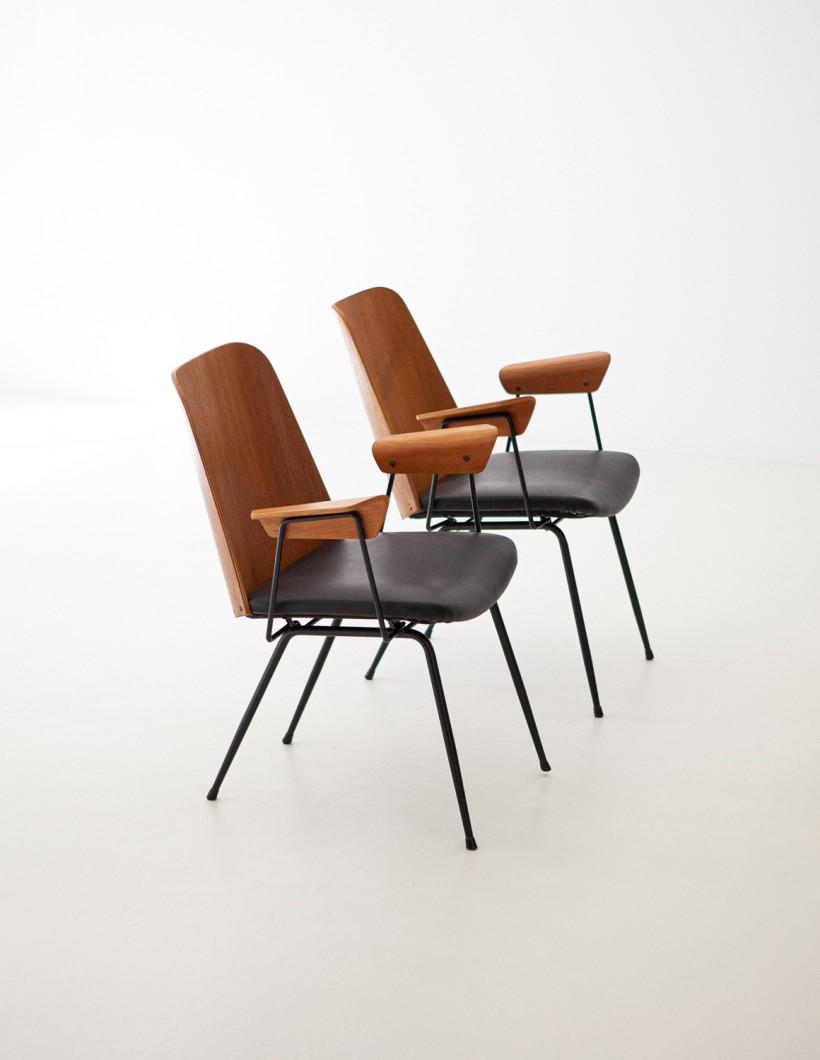 Italian Modern Desk Chairs by Carlo Ratti SE287
