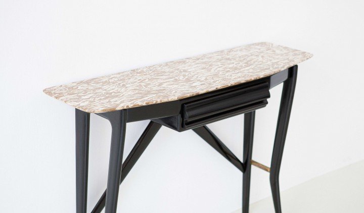 Italian lacquered wood and marble console table OF89 – No longer available..