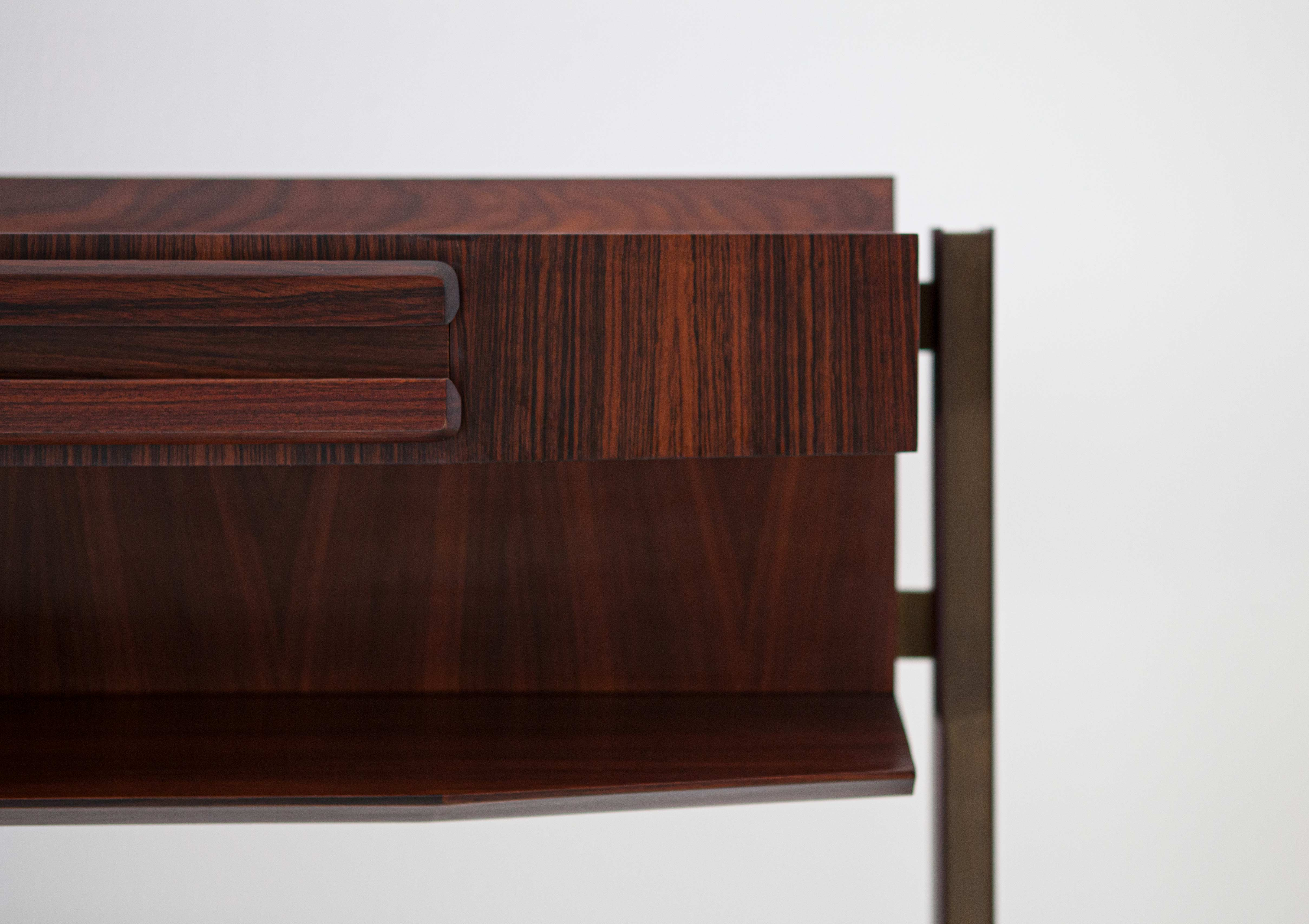 Italian-modern-rosewood-and-brass-console-table-1-of92