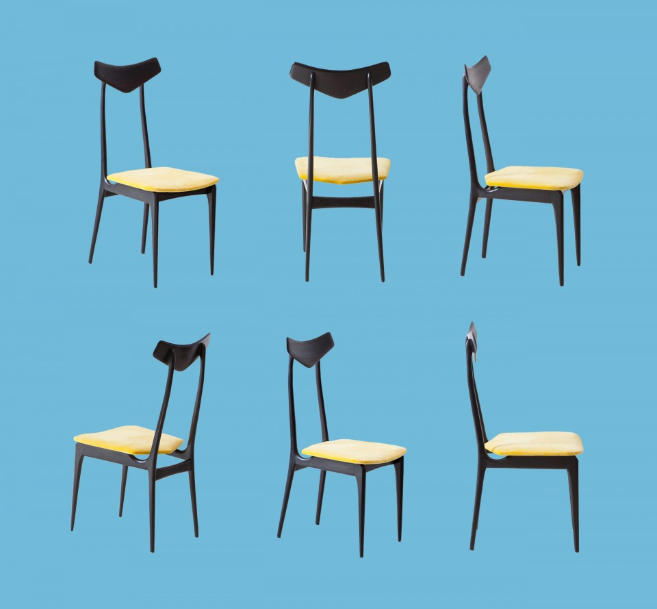 Set of six italian chairs SE325 – No longer available
