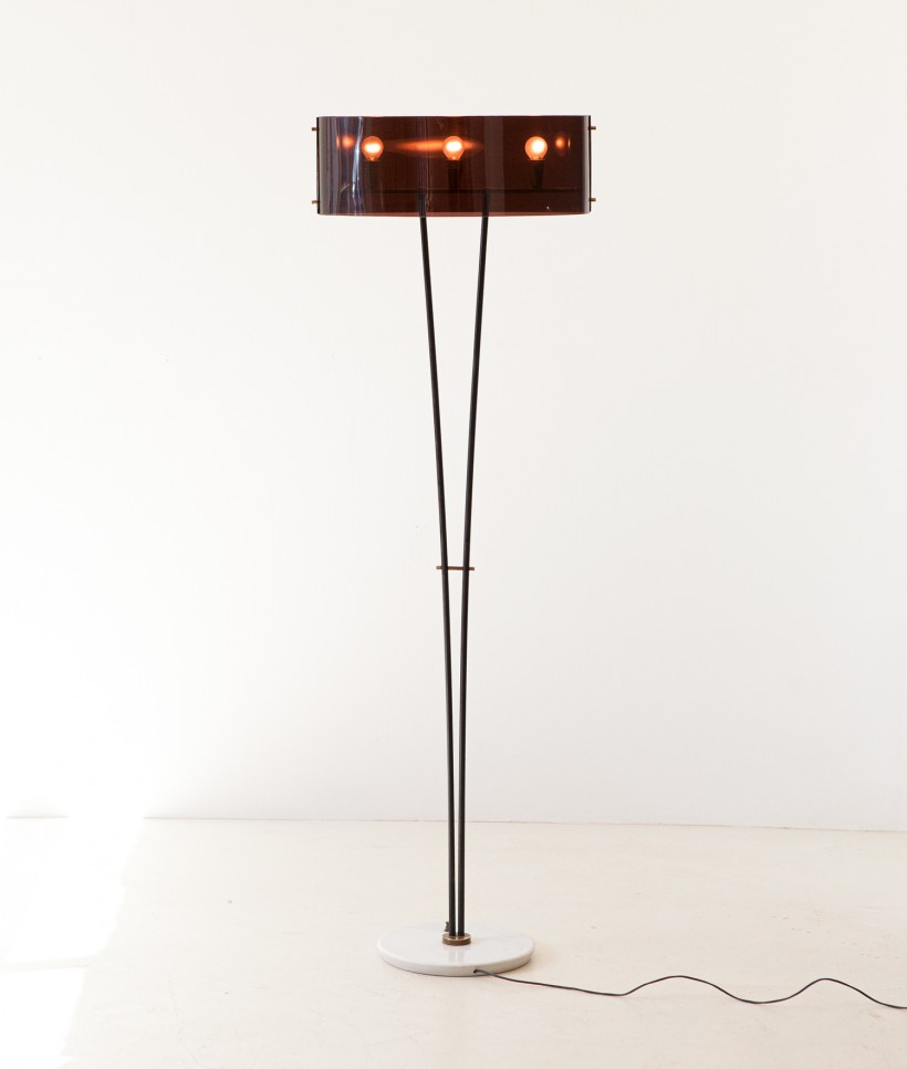 Italian floor lamp by Stilux L99
